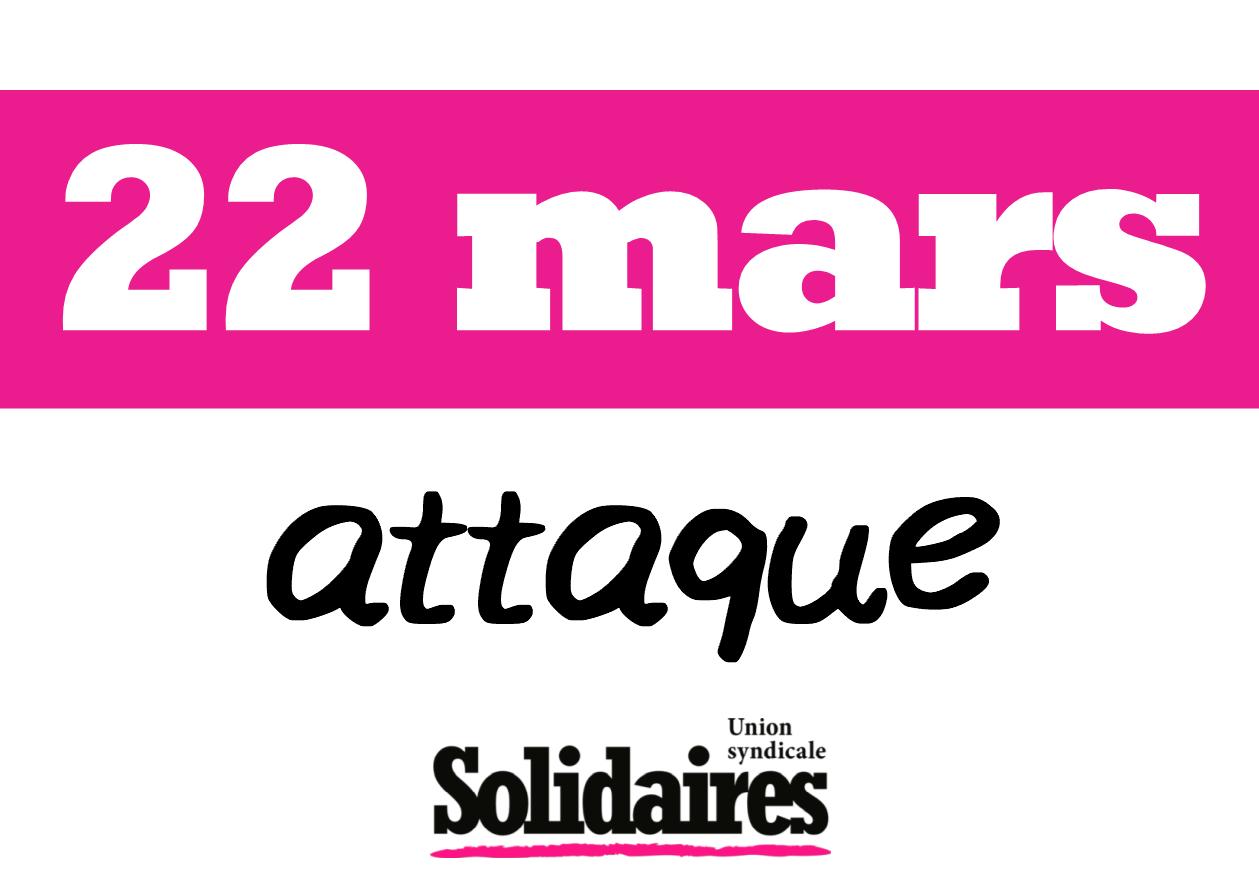22 mars attaque