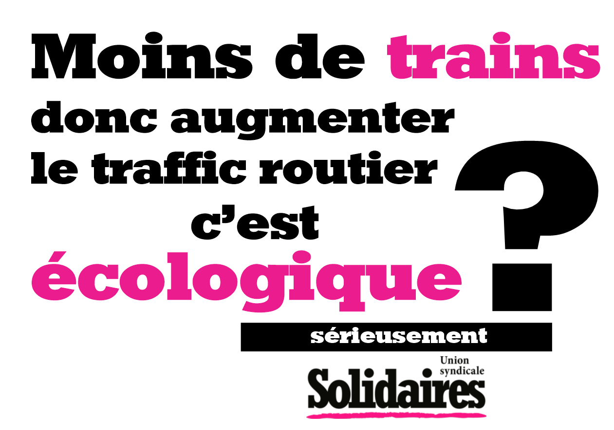 Trains ecologie